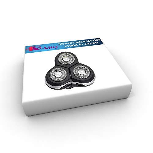 Vervangende scheermes scheermes voor Philips Norelco RQ10 Arcitec Unit Triple Track Heads met gratis schoon penseel