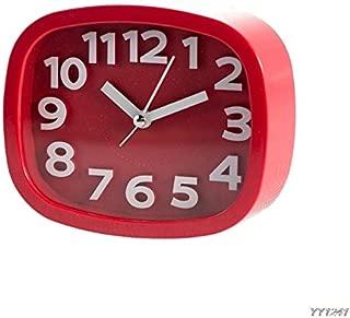 Desktop Clock Digital - Mini Cute Portable Alarm Clocks Battery Bedside Desk Table Home Decor Kid Gifts Y110 - Sunlight Charger Green Speaker Homedics Come Lighted Kids Echo Sound Made Ti