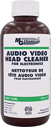 MG Chemicals 407C250ML Audio/Video Head Liquid Cleaner 250 ml Bottle
