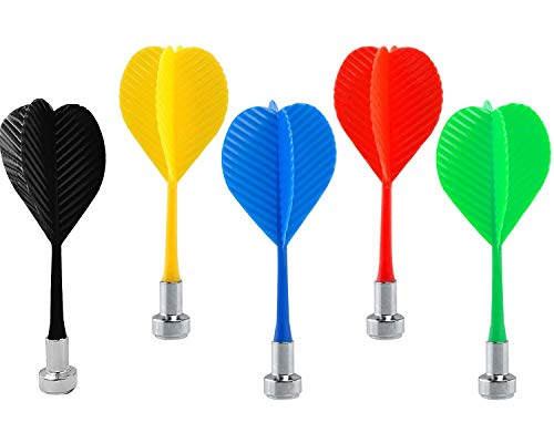 Colorful Plastic Wing-Shaped Syringe Darts Safety Darts Wing Magnetic Darts Target Game Toys