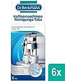 Dr. Beckmann Kaffeemaschinen Reinigungs-Tabs | entfernen Kaffeefett und -öl | mit Aktiv-Sauerstoff,...