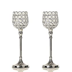 best gifts for mom crystal candle holder