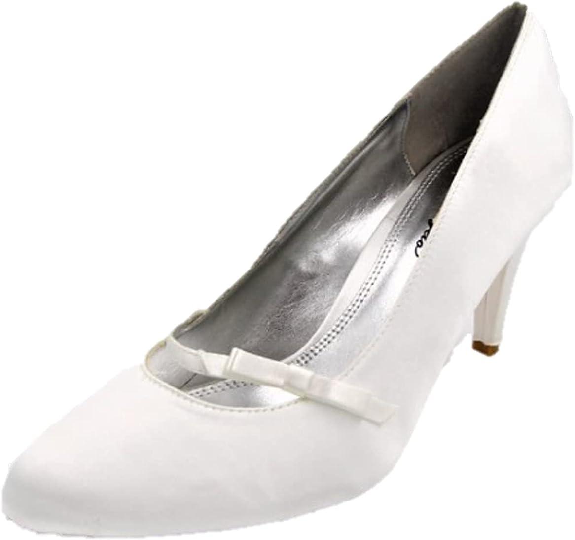 Chinese laundry girls satin white shoes
