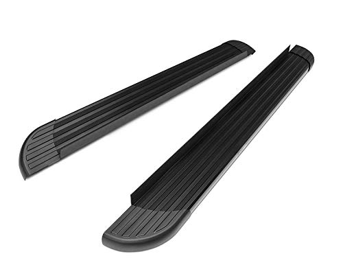 TAC Running Boards Fit 2011-2019 Ford Explorer Value Aluminum SUV Black Side Steps Nerf Bars Step Rails Running Boards Off Road Automotive Exterior Accessories (2 Pieces Running Boards)
