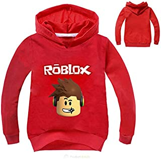 Autumn Roblox T-shirt For Kids Boys Sweayshirt For Girls Clothing Red Nose Day Costume Hoodied Sweatshirt Long Sleeve Tees