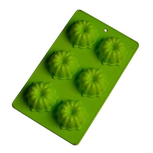 BGREN Forno a microonde Speciale Stampo per Torta in Silicone Morbido Stampo per Fiori Stampo per Riso con Palline per Sushi Stampo per Gelatina Stampo per Ghiaccio-Un