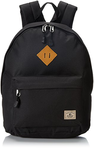 Everest Vintage Backpack, Black, One Size