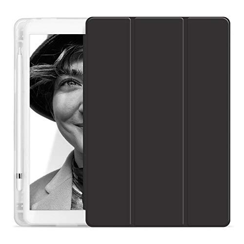 YYLKKB Adecuado para Apple iPad7 Funda Protectora Air3 Shell Airbag 10.2 Ranura de lápiz Mini 4 5 Tablet 2020 11 Pulgadas-Negro_iPad 7 10.2
