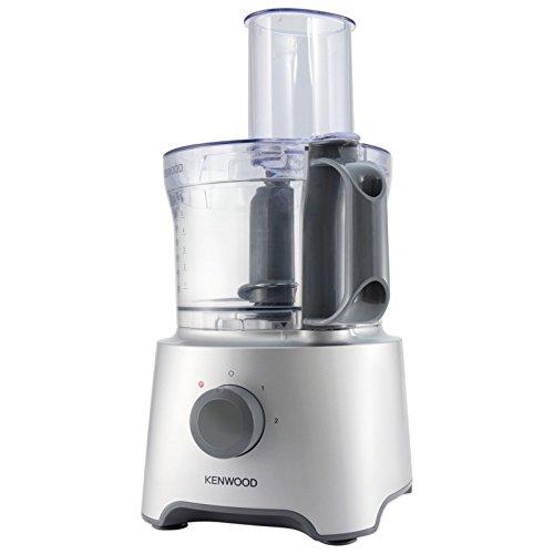 Kenwood FDP301SI MultiPro Compact keukenmachine 800 W, 2,1 liter, zilver