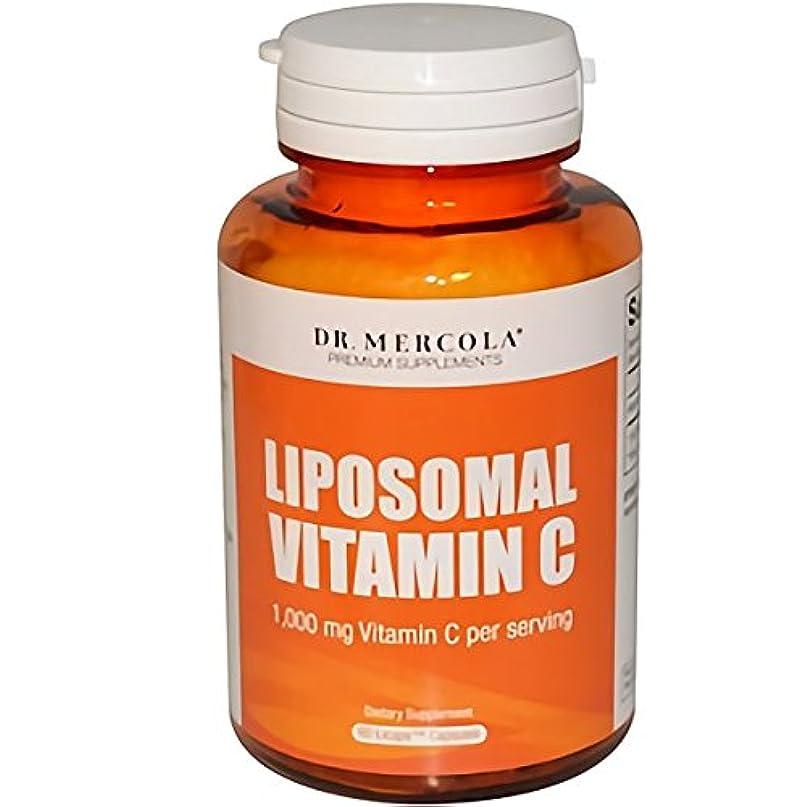 増強保守可能階Dr. Mercola リポソーム ビタミンC 1000mg (60カプセル)(海外直送品)