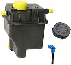 JSD AUTOPARTS Replacement for Radiator Overflow Tank Coolant Reservoir Bottle + Sensor + Cap BMW E53 X5 / Land Rover Range Rover 4.4L 4.8L 17137501959