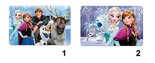 Lot 2 Set dessous de table bureau 3D Frozen Disney - Repas fille - Modele1 - 963