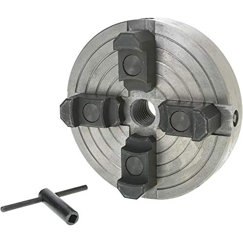 Grizzly Industrial H8049-6' 4-Jaw Wood Chuck - 1' x 8 TPI