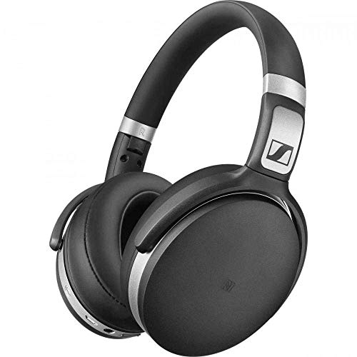 Sennheiser HD 4.50 Bluetooth Wireless Headphones with Active Noise Cancellation, Black and Silver(HD 4.50 BTNC), best affordable wireless headphones, best headphones for running, best running headphones, best cheap headphones amazon