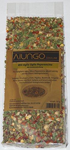 Viungo® BIO - Aglio Olio Peperoncino - Gewürzmischung für Pastagerichte 50 g - Nachfüllbeutel