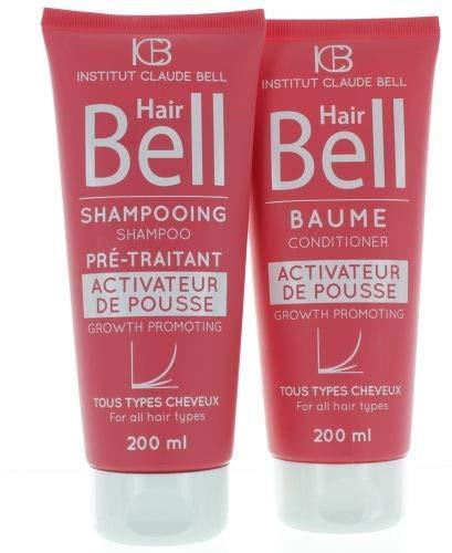 HairBell Shampoo & Conditioner pink edition 2x200ml Haarwachstumsbeschleuniger Haarausfall Haare wachsen