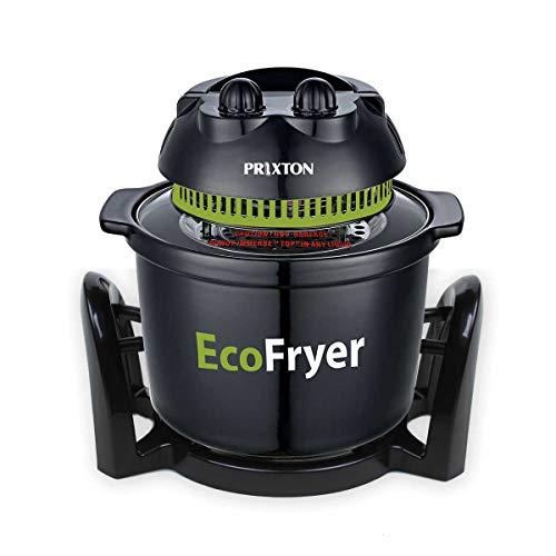 PRIXTON - Freidora sin Aceite de Aire Caliente, Capacidad de 5 litros, Múltiples funciones: Asa, Hornea y Cocina a la parrilla, Barbacoa y al Vapor | ECO100 Ecofryer