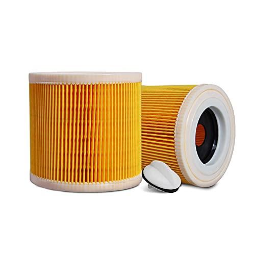 2 filtros de cartuchos de aspiradora compatibles
