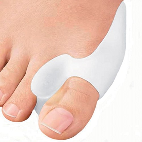 1 Paire oignon Protecteur Gel Cushion Pad Pain Relief Hallux valgus Toe Separator Silicone