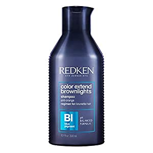 Redken Color Extend Brownlights Shampoo for Brown Hair Colour Pigmented Hair Shampoo for a Cool Brown Neutralises Orange & Red Tint Hair Care for Dyed & Natural Hair 300ml