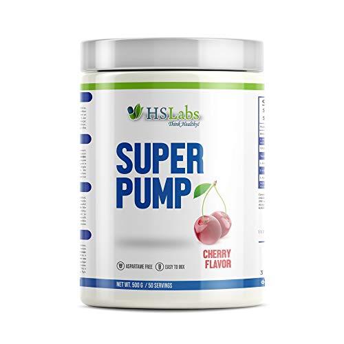 HSLabs SUPER PUMP Pre Workout Booster Supplement Muskelaufbau Pulver Fitness Nitric Oxyde Ergänzung Früchte Geschmack und Andere Erhöhen Ausdauer Muskelmasse Energie 30 50 Tages Portion