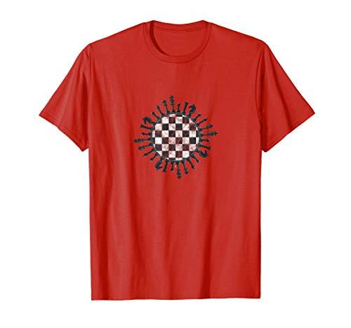 チェスゲーム 将棋 ボードゲーム 勝ち負け チェックメイト 攻略法 チェス 将棋をする 選手会 Tシャツ