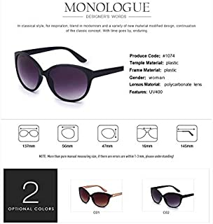 ZMP Fashion Trend Sunglasses Ladies Polarized Glasses UV400 Eye Protection Sunglasses (Color : Purple)