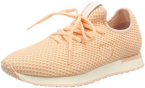 Marc O'Polo Sneaker 80214473502601, Zapatillas Mujer, Rojo Rosa, 38 EU