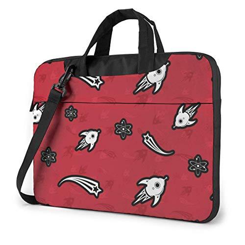 Raket- en vallende ster laptop schoudertas met handvat dragende Messenger handtas