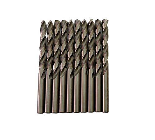 Broca para metal HSS DIN338 M35 cobalto de 9 mm (paquete de 10 unidades)