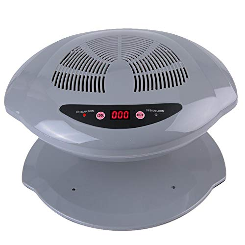Nageltrockner, Luftnageltrockner 400W LED UV Luftnagel Fan Föhn Aushärtelampe für normalen Nagellack Automatischer Sensor Warm Cool Nagel Maniküre Werkzeug(#3)