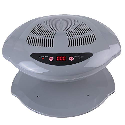 Essiccatore per unghie, asciugatore per unghie Air 400W LED UV Air Nail Fan Blow Dryer lampada per polimerizzazione per il sensore automatico di smalto per unghie normale(#3)