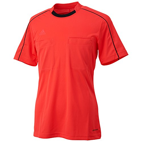 adidas Unisex Trikot Referee 16, shock red/black, M, AJ5915