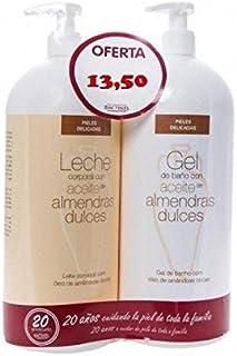 BACTINEL Duplo Leche Almendras 750ml + Gel de Baño 750 ml