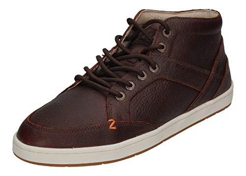 Hub Footwear Sneakers Kingston 2.0 L30 dk Brown Off wht, Größe:43 EU