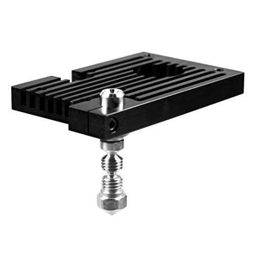 Micro Swiss - All Metal Hotend Kit con blocco refrigerante (Wanhao Duplicator 6) - 0,8 mm