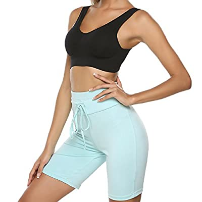 sholdnut Women Sports Board Shorts Stretch Swim Beach Shorts Outdoor Yoga Pants