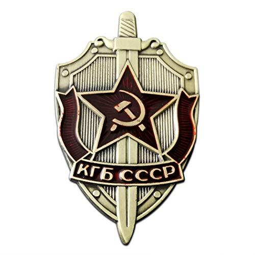 Kocreat Unión Soviética KGB Insignia CCCP Medal-WW2 USA URSS El Comité de Seguridad del Estado Medalla Militar Colección Medalla Recuerdos Lapel Pins réplica