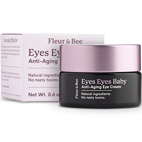 Anti Aging Eye Cream | Natural, 100% Vegan & Cruelty Free | Dermatologist Tested Moisturizer...