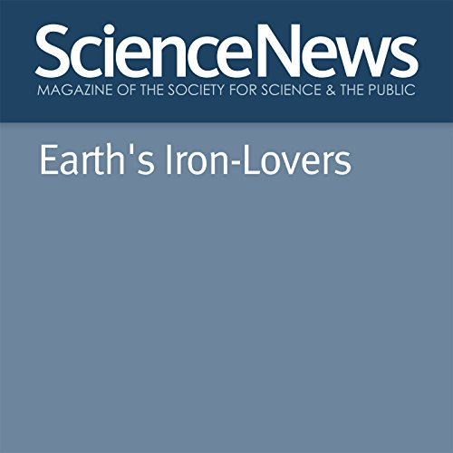 Earth's Iron-Lovers audiobook cover art