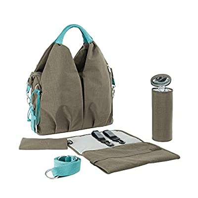 Lassig Green Label Neckline Diaper Bag Taupe