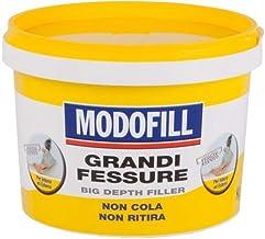 Modufill Plamuurmassa voor het vullen van grote gaten en gaten in de muur, hoge vulling, wit, 1 kg