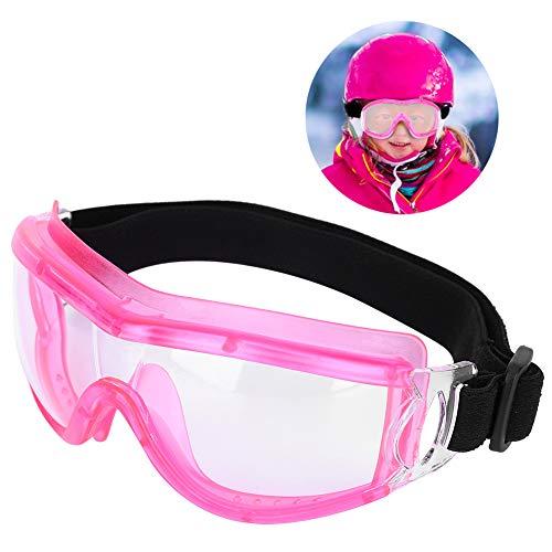 Hffheer Kinder Schutzbrille Antibeschlag Staubschutz wasserdichte Schutzbrille Kids Outdoor Game Schutzbrille Schutzbrille Schutzbrille Augenschutz(Pink)