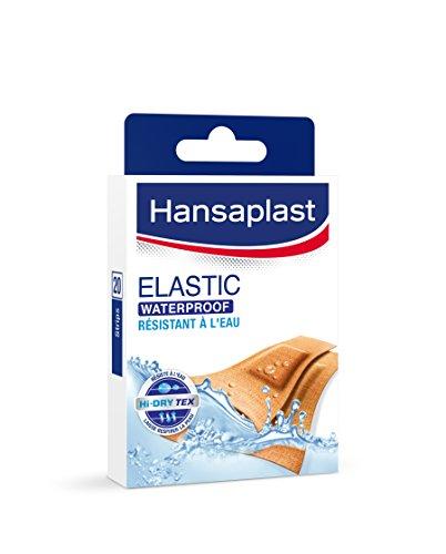 Hansaplast waterdichte pleister, elastisch, 20 stuks