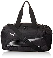 Idea Regalo - Puma Fundamentals Sports Bag - Borsone, Unisex – Adulto, Nero (Black), XS (40 x 21 x 22 cm)