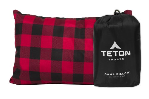 TETON Sports Camp Pillow; Great for Travel, Camping and...