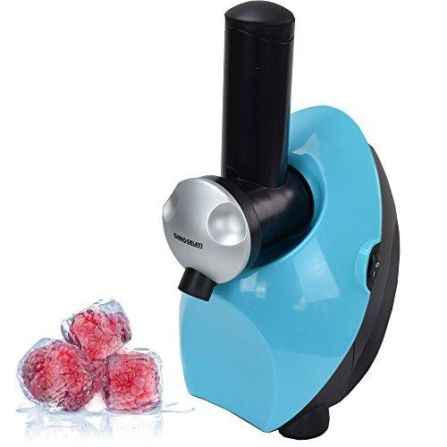 Gino Gelati Frucht Eismaschine für gefrorene Früchte fettfrei-kalorienarm-milchfrei-aus Früchten