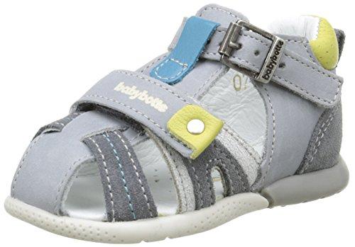 babybotte Geo, Chaussures Marche bébé garçon, Gris (077 Gris), 19