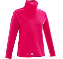 FREE SHIPPING , Women's Hiking Fleece Forclaz 20 designed for mountain hikers wanting very simple protection from the cold. confort temperature between 50°f and 55.4°f Soft micro fleece, brushed inner and outer side. High collar. The fleece component...