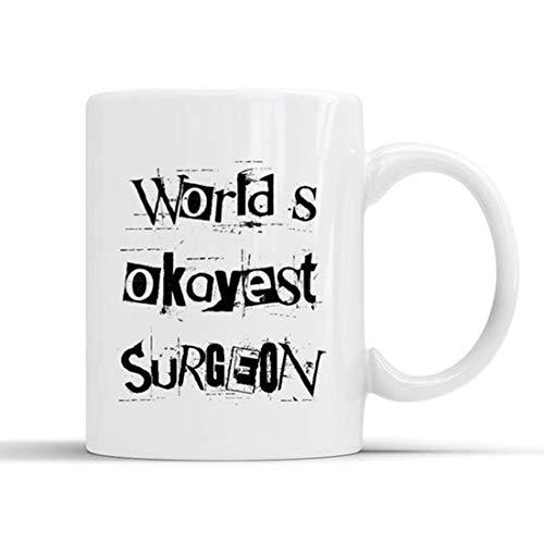 Taza divertida de cirujano, cirujano, aspirante, cirujano futuro, regalo para cirujano general, cirujano ortopédico, neurocirujano, regalo de cirujano plástico